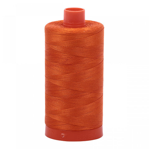 AURIFIL QUILT THREAD - 50 WT - 1422 yds #2235, Orange