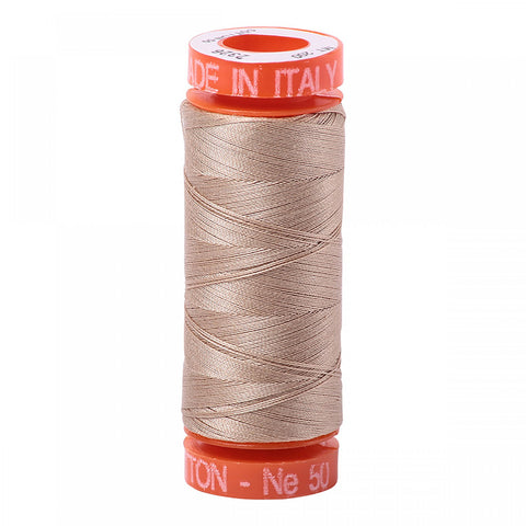 AURIFIL QUILT THREAD - 50 WT - 220 yds Small #2326, Sand