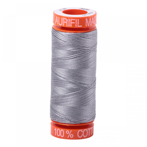 AURIFIL QUILT THREAD - 50 WT - 220 yds Small #2606, Mist