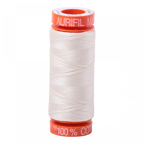 AURIFIL QUILT THREAD - 50 WT - 220 yds Small #6722, Sea Biscuit