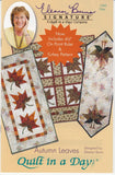 Autumn Leaves Quilt Pattern, Quilt in a Day, Eleanor Burns, 1260 EASY