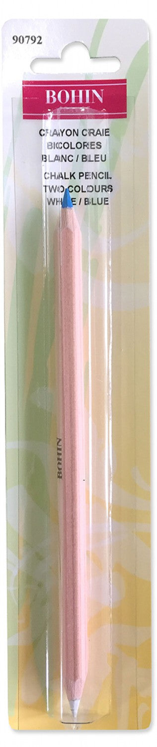 Dressmakers Bi Colored Marking Chalk Pencil, by Bohin, 90792