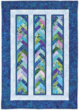 Braid In A Day Pattern, Quilt in a Day, Eleanor Burns, w/ Acrylic Template, EASY