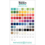 Kimberbell Basics, Charm Squares/Pack, 92-pieces Maywood Studio 100% Cotton CP-MASKBB-ALL