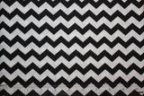 "1/2"" Chevron Fabric, by the Yard, 100% Cotton, Choice of Color"