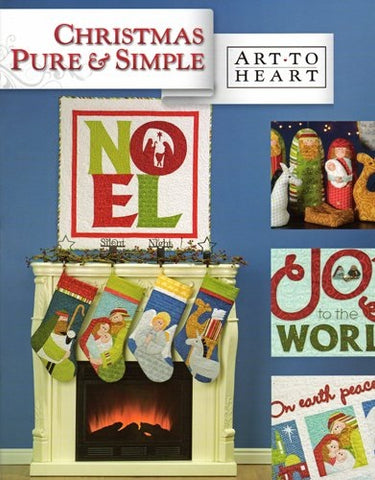 Christmas Pure & Simple Quilt Book by Art to Heart