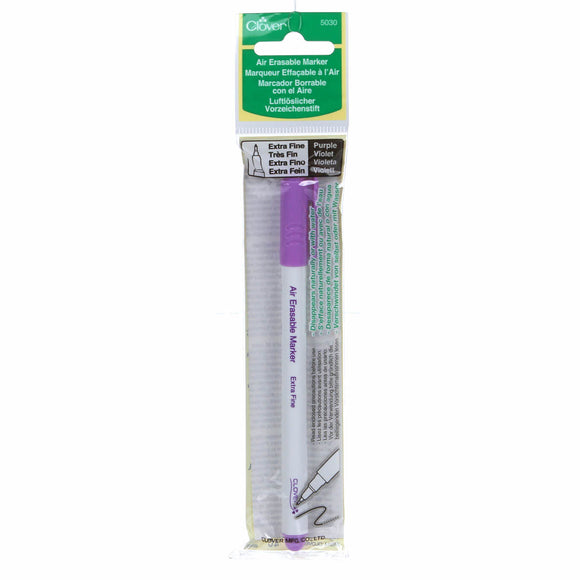 Air Erasable Marker by Clover 5030, Extra Fine Purple/Violet