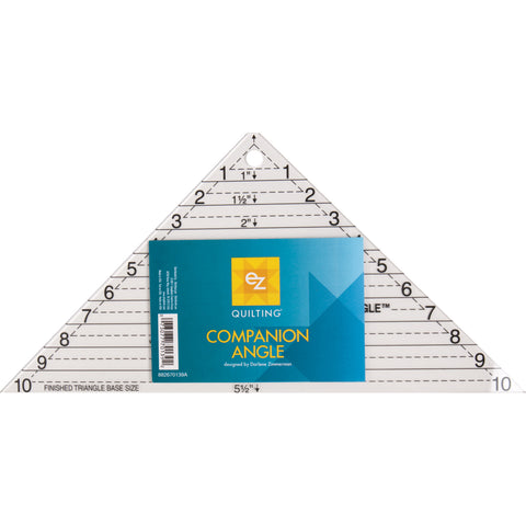 Companion Angle Triangle Ruler from EZ Quilting & Darlene Zimmerman # 882670139A