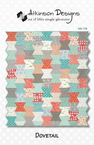 DOVETAIL Quilt Pattern, Atkinson Designs ATK-178