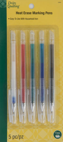 Heat Erase Marking Pens, 5 pc from Dritz #3364