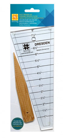 Easy Dresden Set, EZ Quilting Ruler 882700