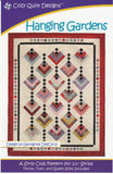 "Hanging Gardens, A Strip Pattern for 2 1/2"" Strips by Cozy Quilt Designs #CQD01011"