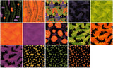 "Haunted Hill by Cary Phillips, Forty-two (42) - 10 x 10"" 100% Cotton Squares"
