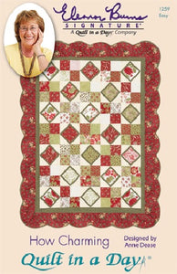 HOW CHARMING Pattern by Quilt in a Day, Eleanor Burns, 1259 Easy