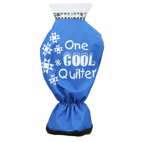 One COOL Quilter Ice & Snow Scraper with Glove, CP-ICE1