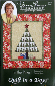 In the Pines Quilt Pattern, Quilt in a Day, Eleanor Burns, 1273 EASY