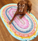 Jelly-Roll Rug Pattern, by R.J. Designs RJD 100
