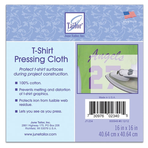 T-Shirt Pressing Cloth, from June Tailor JT-234
