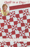 Le Moyne Star Quilt Pattern, Quilt in a Day, Eleanor Burns, 1237 EASY