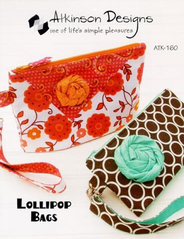 LOLLIPOP BAGS Pattern, Atkinson Designs ATK-160