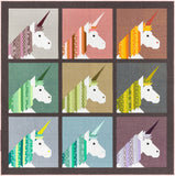 Lisa The Unicorn Quilt Pattern by Elizabeth Hartman, EH-038