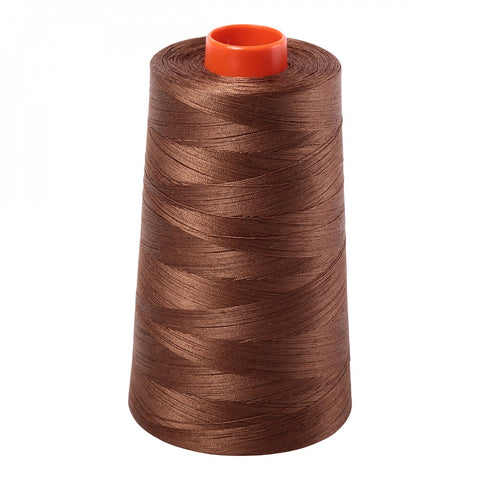 AURIFIL QUILT THREAD CONE - 50 WT - 6452 yards #2372 Dark Antique Gold