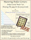 Mastering Perfect Corners: The Perfect Corner Ruler for Quilt Blocks with Triangle Corners