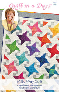 Milky Way Quilt pattern from Quilt in a Day, Eleanor Burns, Easy 1223