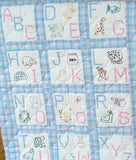 ABC Nursery Quilt Blocks, pkg of 12 Jack Dempsey Cross Stitch Embroidery #300-66