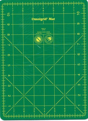 "Omnigrid Mat with Grid, 8"" x 11"" for Rotary Quilting 12WG"