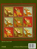 Peppermint & Holly Berries Quilt Book by Art to Heart by Nancy Halvorsen #530B