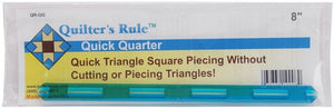 "8"" Quick Quarter Ruler from Quilter's Rule, QR-QQ"