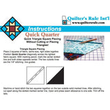 "12"" Quick Quarter Ruler from Quilter's Rule, QR-QQ2"