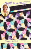 Pineapple Quilt Pattern by Quilt in a Day, Eleanor Burns, 1294 Intermediate