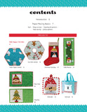 Sew Yourself a Merry Little Christmas, 16 Paper-Pieced Blocks 8 Holiday Project
