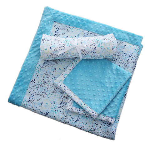 Patty Cakes Swaddle Gift Kit - Sugar Cookie, Cuddle/Double Gauze Shannon Fabrics