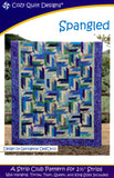 "Spangled: A Strip Pattern for 2 1/2"" Strips by Cozy Quilt Designs # CQD01030"