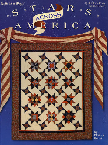 Stars Across America, Quilt in a Day Book from Eleanor Burns