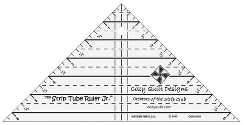 Strip Tube Junior Ruler from Cozy Quilt Designs # CQD05006