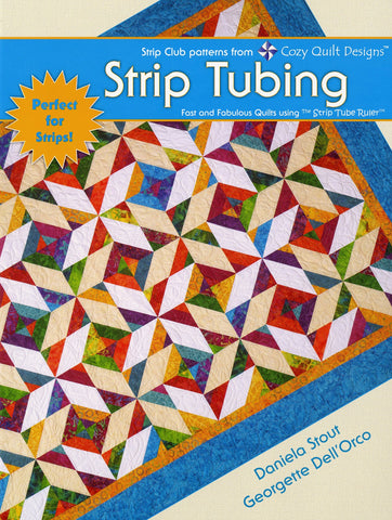Strip Tubing, Strip patterns by Cozy Quilt Designs # CQD04006