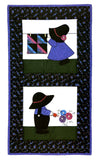 Sunbonnet Sue Visits Quilt in a Day, quilting book by Eleanor Burns