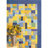 YELLOW BRICK ROAD Quilt Pattern, Atkinson Designs ATK-126 Fat Quarter Quilt