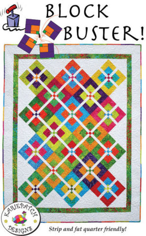 Block Buster! Quilt Pattern, KariePatch Designs