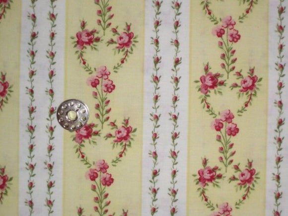 100% Cotton fabric, Butterfly Kisses, South Sea Imports, By the Yard