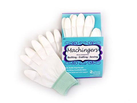 Machingers Quilting Gloves, size M/L by Quilter's Touch #0209G-L