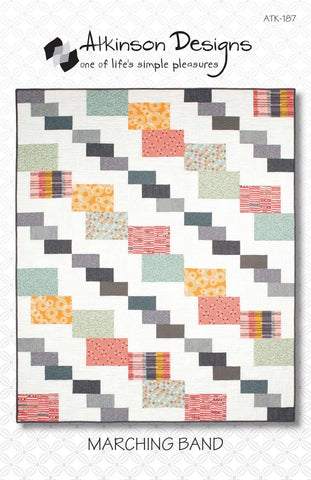 MARCHING BAND Quilt Pattern, Atkinson Designs ATK-187