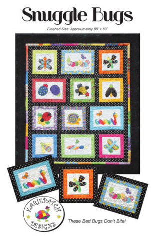 Snuggle Bugs Quilt Pattern, KariePatch Designs, Kids/Children