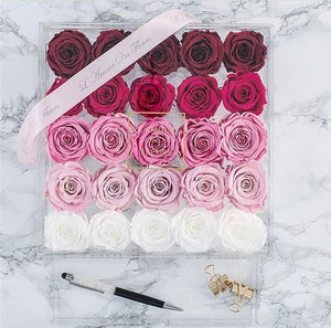 10.  Le25 Eternal Roses - with Drawer (Home Decor series)