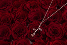 Load image into Gallery viewer, 04.  24K Rose pendant in RoseGold (plated)