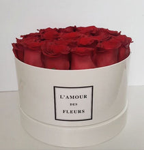 Load image into Gallery viewer, 15.  Fresh Roses (in water) - Round Classic Hatbox